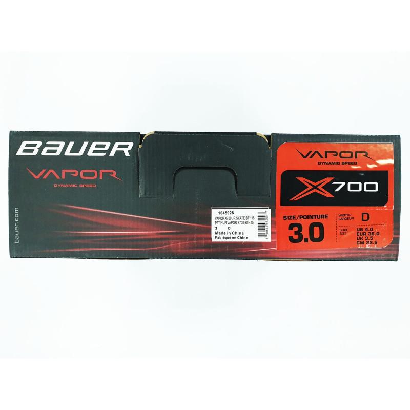 Коньки BAUER VAPOR X700 JR [3.0D]