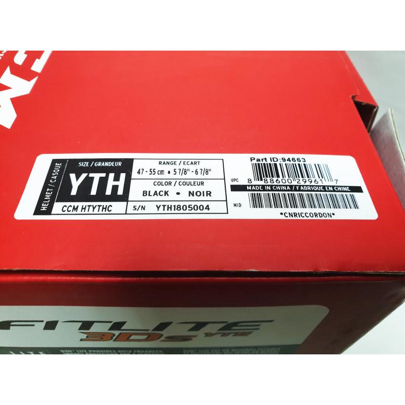 Шлем CCM FITLITE 3DS COMBO [YTH]