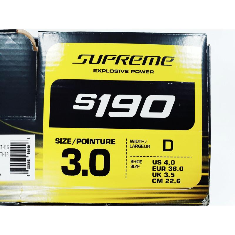 Коньки BAUER SUPREME S190 JR [3.0D]