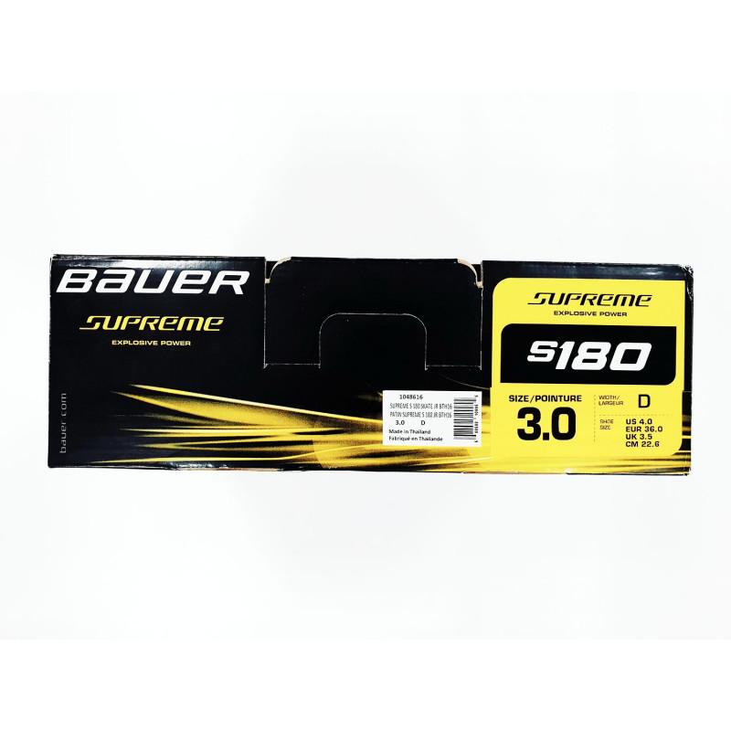 Коньки BAUER SUPREME S180 JR [3.0D]