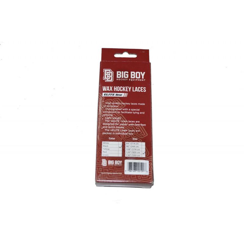 Шнурки с пропиткой BIG BOY ELITE LINE [черные]