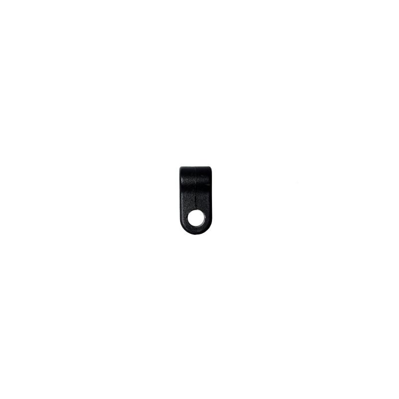 Клипса крепления маски TSP пластик [черная]