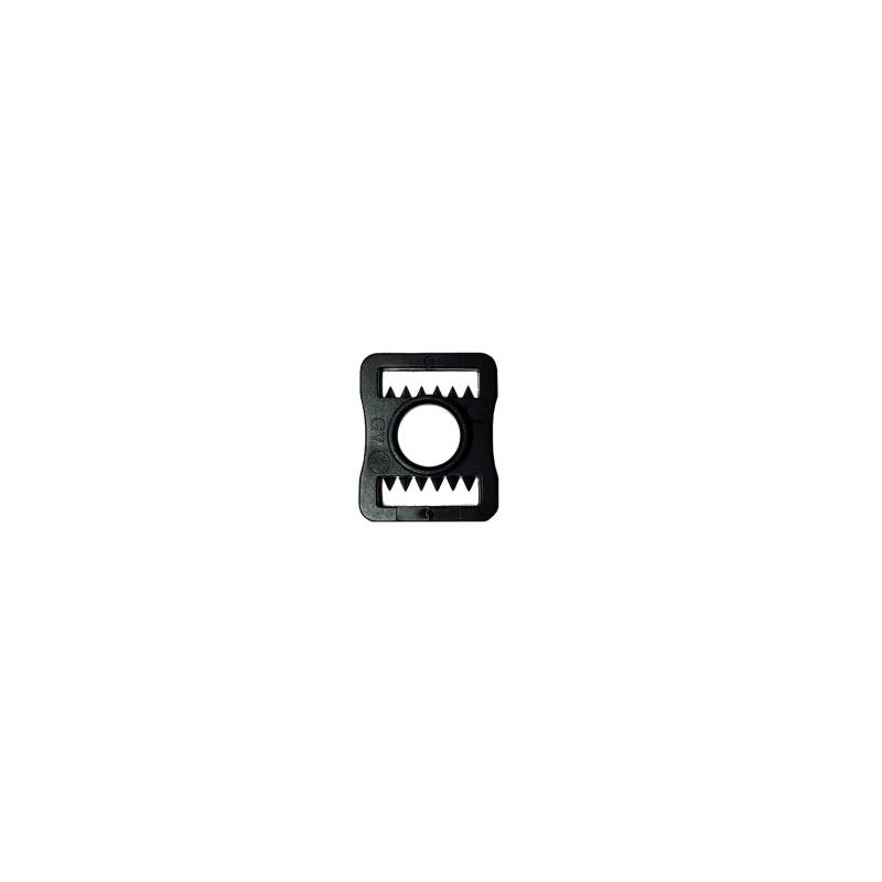 Пряжка TSP на ремешок шлема пластик [черная]