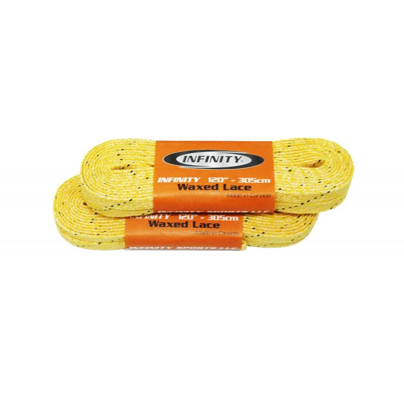 Шнурки с пропиткой INFINITY [желтые]