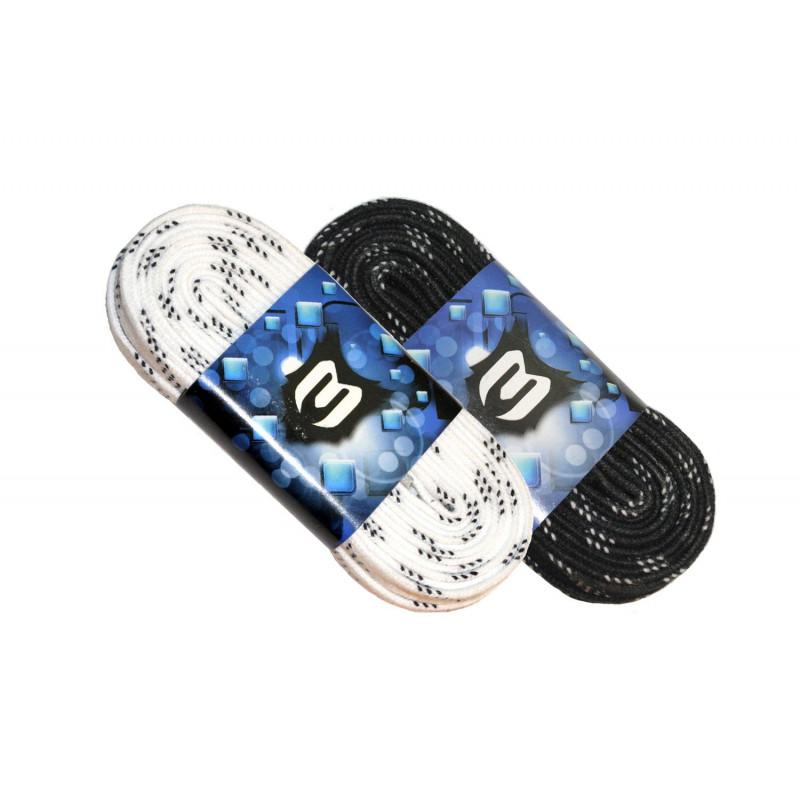 Шнурки с пропиткой MAD GUY ECO LINE [белые]