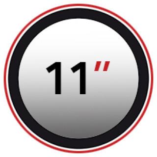 "11"" (0)"