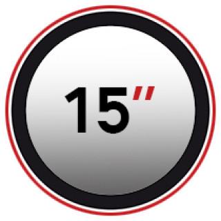 "15"" (0)"