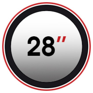 "28"" (0)"